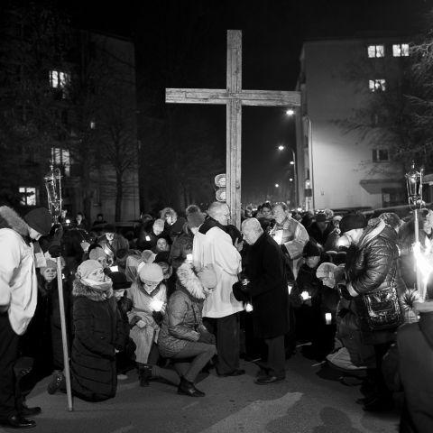 IX Parafialna Droga Krzyżowa 2018